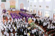 Gx. Long Tâm: Thánh lễ an táng Ông Cố Giuse Vũ Văn Đoán