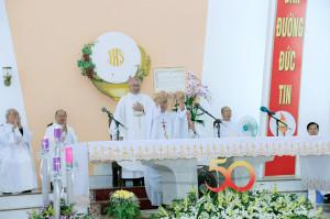 Gx. Tân Châu: Khai mạc Năm Thánh mừng 50 năm thành lập giáo xứ