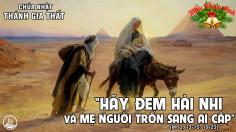CÁC BÀI SUY NIỆM LỜI CHÚA CHÚA NHẬT LỄ THÁNH GIA THẤT – NĂM A