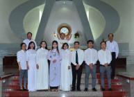 Gx. Vinh Châu: 8 anh chị em Dự Tòng lãnh nhận Bí tích Khai tâm Kitô giáo