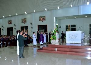 Tin Ảnh: Gx. Vinh Châu: Thánh lễ khai mạc năm phụng vụ 2020