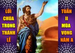 BẢN VĂN BÀI ĐỌC TRONG THÁNH LỄ  TUẦN II MÙA VỌNG – NĂM A
