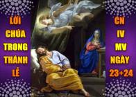 BẢN VĂN BÀI ĐỌC TRONG THÁNH LỄ CN IV MÙA VỌNG - NGÀY 23-24.12