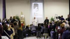 ĐTC thăm trung tâm Caritas ở Roma: Sự điên rồ của tình yêu