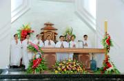 Tin Ảnh: Gx. Tân Phước: Tân linh mục Đaminh Nguyễn Văn Thành dâng lễ tạ ơn
