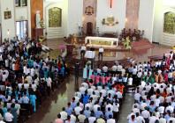 Gp. Bà Rịa: Khối giáo dân họp mặt tất niên và chúc xuân Đức Cha