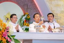 Tin Ảnh: Gx. Hòa Xuân: Hai tân linh mục dâng thánh lễ tạ ơn