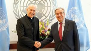 Quan sát viên thường trực của Tòa Thánh tại Liên Hiệp quốc trình thư ủy nhiệm
