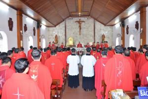 Giáo phận Bà Rịa: Các linh mục tĩnh tâm đầu năm Dương lịch