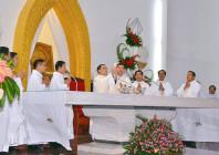 Tin ảnh: Gx. Bãi Dâu: Tân linh mục Antôn Đặng Đình Thanh dâng lễ tạ ơn