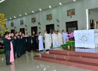 Tin Ảnh: Gx. Vinh Châu: Thánh lễ Giao thừa và Mùng Một Tết Nguyên Đán 2020