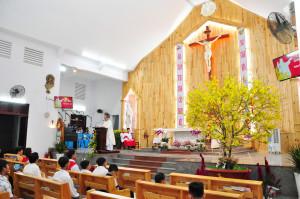 Giáo xứ Hòa Tân: Thánh Lễ Giao Thừa