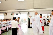 Gx. Hòa Phước: Thánh lễ tạ ơn và nghi thức làm phép viên đá xây dựng nhà giáo lý