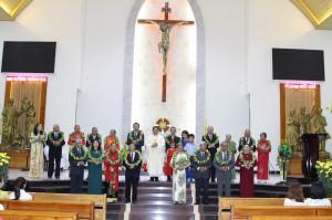 Tin Ảnh: Gx. Láng Cát: Thánh lễ Mùng Hai và Mùng Ba Tết Canh Tý 2020