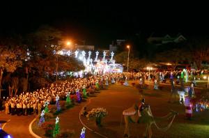 Đền Thánh Bãi Dâu: Hành hương kính kính Đức Mẹ vào Thứ Bảy đầu năm Dương lịch