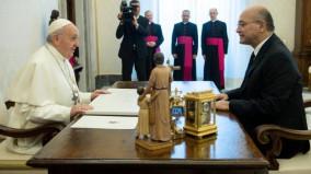 Đức Thánh Cha và Tổng thống Iraq thảo luận về tương lai của Kitô hữu tại Iraq