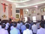 Tin ảnh: Giáo phận Bà Rịa: Linh mục Đoàn họp mặt tất niên và chúc Xuân quý đức cha