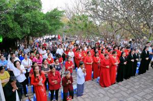 Núi Chúa Tao Phùng: Hành hương kính Chúa Kitô Thứ Sáu đầu năm dương lịch