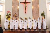 Giáo phận Bà Rịa: Thánh lễ Truyền chức linh mục 2020
