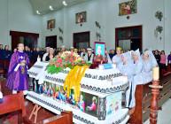 Gx. Vinh Châu: Thánh lễ an táng Bà Cố Anna Nguyễn Thị Niệm
