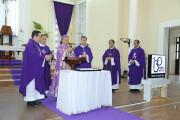 Gx. Vũng Tàu: Đức Cha Tôma cử hành Lễ Tro- Khai mạc Mùa Chay Thánh 2020