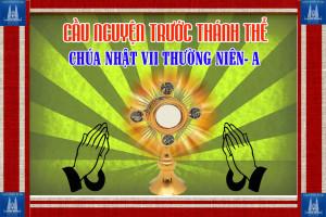 Cầu nguyện trước Thánh Thể- Ngày 23.02.2020 – Chúa nhật VII Thường niên – Mt 5,38-48