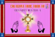 Cầu nguyện trước Thánh Thể- Ngày 01.03.2020 – Chúa nhật I mùa Chay – Mt 4,1-11