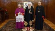 ĐTC tặng thánh tích hai thánh Clêmentê và Potito cho Giáo hội Chính thống Bulgari