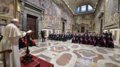 Đức Thánh Cha khai mạc Năm Tư pháp thứ 91 của Tòa án Vatican