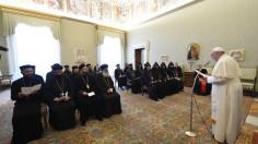 ĐTC tiếp linh mục và tu sĩ các Giáo hội Chính thống Đông Phương