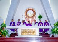 Gx. Vinh Châu: Thánh lễ an táng Bà Cố Anna Nguyễn Thị Lân