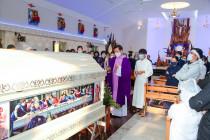 Tin Ảnh: Gx. Bình Ba: Thánh lễ an táng ông cố Phêrô Vũ Văn Hội