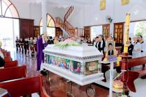 Gx. Long Toàn: Thánh lễ an táng Ông cố Giacôbê Phạm Văn Sáng
