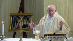 ĐTC Phanxicô cầu nguyện cho các nữ tu (25/03)