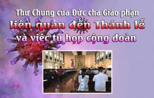Thư Chung của Giáo phận Xuân Lộc liên quan đến Thánh lễ và việc tụ họp cộng đoàn