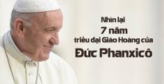 VIDEO: Nhìn lại 7 năm triều đại Giáo Hoàng của Đức Phanxicô