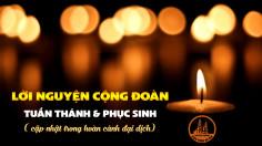 Lời nguyện cộng đoàn Tuần Thánh và Phục Sinh [cập nhật trong hoàn cảnh đại dịch]