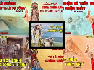 Hình minh họa Lời Chúa TUẦN IV PHỤC SINH – NĂM A
