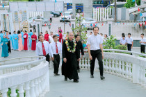 Gx. Long Hương: Nghi thức nhậm xứ và thánh lễ tạ ơn của Cha Tân Chánh xứ Phanxicô Xaviê Nguyễn Văn Đạo