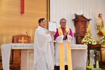Gx. Phước Chí: Đón chào vị mục tử mới: Cha Antôn Hồ Đức Thuận