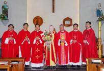 Đức cha Phaolô Maria Cao Đình Thuyên cử hành thánh lễ tạ ơn 60 năm linh mục