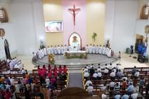 Tin Ảnh: Gx. Ngãi Giao: Thánh lễ mừng kính Đức Mẹ La Vang- Bổn mạng Giáo xứ