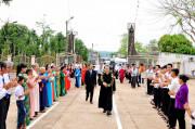 Gx. Hòa Xuân: Cha Đaminh Nguyễn Đức Quỳnh nhận sứ vụ Tân Chánh xứ - Ngày 24.5.2020