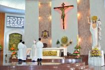 Gx. Chánh Tòa Bà Rịa: Thánh lễ tạ ơn kỷ niệm 10 năm cung hiến nhà thờ