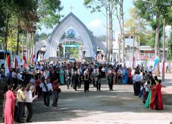 Gx.Vinh Châu:Đón vị mục tử mới - Cha Phêrô Trần Xuân Huệ