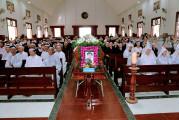 Gx. Vinh Châu: Thánh lễ an táng Bà Cố Maria Nguyễn Thị Lành