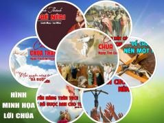 Hình minh họa Lời Chúa  LỄ THĂNG THIÊN và TUẦN VII PHỤC SINH – NĂM A