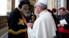 ĐTC Phanxicô và Đức Thượng phụ Tawadros hiệp nhất cầu nguyện trong những ngày này