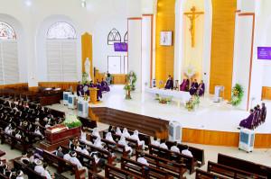 Gx.Long Hương: Thánh lễ an tángÔng cố Giuse Nguyễn Văn Tâm