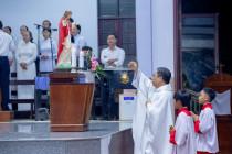 Tin Ảnh: Gx. Hữu Phước: Mừng lễ Thánh Tâm Chúa Giêsu